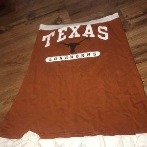 Texas longhorn T-shirt dress